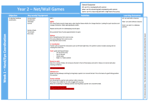 Net Wall Games Y2