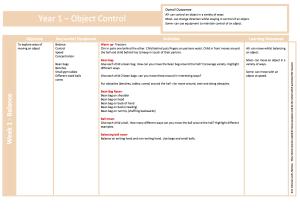 Object Control Y1